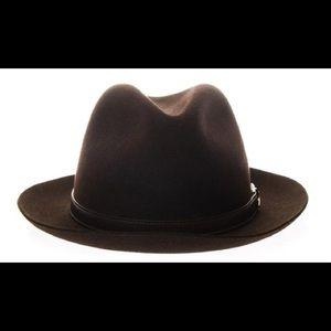 NWOT Gucci felt fedora man/woman hat
